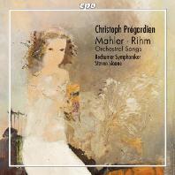 ORCHESTRAL SONGS/ CHRISTOPH PREGARDIEN, STEVEN SLOANE