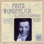 SALZBURGER LIEDERABEND/ FRITZ WUNDERLICH