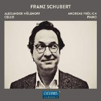 CELLO WORKS/ ALEXANDER HULSHOFF, ANDREAS FROLICH [슈베르트: 첼로 편곡집]