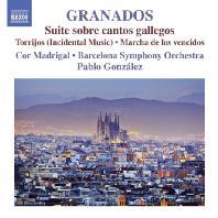 ORCHESTRAL WORKS VOL.1: SUITE SOBRE CANTOS GALLEGOS/ PABLO GONZALEZ [그라나도스: 관현악 작품 1집]