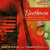 COMPLETE SONATAS FOR PIANO AND VIOLIN/ MARTIN ROSCOE, TASMIN LITTLE [베토벤: 바이올린 소나타 전곡]