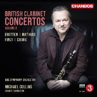 BRITISH CLARINET CONCERTOS VOL.2 [마이클 콜린스: 영국 클라리넷 협주곡 2집]