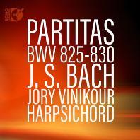PARTITAS BWV 825-830/ JORY VINIKOUR [바흐: 파르티타 - 조리 비니커]