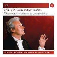 COLIN DAVIS CONDUCTS BRAHMS [SONY MASTERS] [콜린 데이비스가 지휘하는 브람스: 교향곡 1-4, 하이든 변주곡, 협주곡, 서곡]