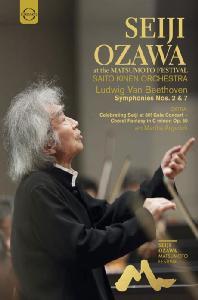 SYMPHONIES NOS.2 & 7: SEIJI OZAWA AT THE MATSUMOTO FESTIVAL/ MARTHA ARGERICH [베토벤: 교향곡 2, 7번, 합창환상곡 - 2015/2016 세이지 오자와 마츠모토 페스티벌]