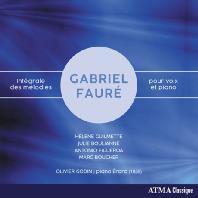 INTEGRALE DES MELODIES POUR VOIX ET PIANO/ HELENE GUILMETTE [포레: 가곡 전집]