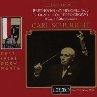SYMPHONY NO.3 & CONCERTO GROSSO/ CARL SCHURICHT [베토: 교향곡 3번 & 슈첼: 합주 협주곡 - 칼 슈리히트]
