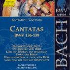 CANTATAS BWV 136-139/ HELMUTH RILLING