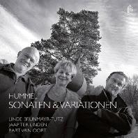 SONATAS & VARIATIONS/ LINDE BRUNMAYR-TUTZ, JAAP TER LINDEN, BART VAN OORT [훔멜: 피아노, 첼로, 플루트를 위한 실내악곡들]