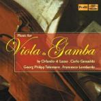 MUSIC FOR VIOLA DA GAMBA/ SIEGFRIED PANK, CHRISTINE SCHORNSHEIM