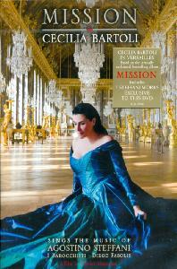MISSION: SINGS THE MUSIC OF AGOSTINO STEFFANI/ CECILIA BARTOLI [체칠리아 바르톨리: 미션 스테파니 작품집]