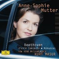 BEETHOVEN: VIOLIN CONCERTO & ROMANCES/ KURT MASUR [베토벤: 바이올린 협주곡 - 무터, 마주어]