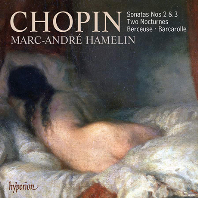 SONATAS NOS.2 & 3, TWO NOCTURNES, BERCEUSE, BARCAROLLE/ MARC-ANDRE HAMELIN [쇼팽: 피아노 소나타, 녹턴, 자장가, 뱃노래  - 아믈랭]
