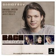 CONCERTOS FOR 2, 3 & 4 PIANOS/ DAVID FRAY [바흐: 건반 협주곡 - 다비드 프라이]