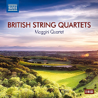 BRITISH STRING QUARTETS/ MAGGINI QUARTET [영국 현악4중주 모음집 - 마기니 현악 사중주단]