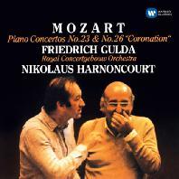 PIANO CONCERTOS NO.23 & 26 'CORONATION'/ FRIEDRICH GULDA, NIKOLAUS HARNONCOURT [ORIGINAL JACKET] [모차르트: 피아노 협주곡 <대관식>| 굴다, 아르농쿠르]