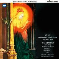 SYMPHONY NO.2 'RESURRECTION'/ ELISABETH SCHWARZKOPF, OTTO KLEMPERER [ORIGINAL JACKET] [말러: 교향곡 2번 <부활>]