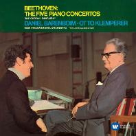 THE FIVE PIANO CONCERTOS/ DANIEL BARENBOIM, OTTO KLEMPERER [ORIGINAL JACKET] [베토벤: 피아노 협주곡 전곡]