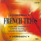 FRENCH TRIOS/ GABY PAS VAN RIET, GUNTER TEUFFEL, XAVIER DE MAISTRE