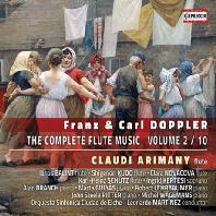 THE COMPELETE FLUTE MUSIC VOL.2 - 10/ CLAUDI ARIMANY [프란츠 & 칼 도플러: 플루트 음악 전곡 2집]
