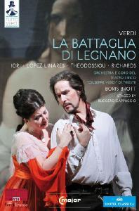 LA BATTAGLIA DI LEGNANO/ BORIS BROTT [TUTTO VERDI 13] [베르디: 레냐노의 전투]