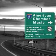 AMERICAN CHAMBER MUSIC/ JAMES EHNES, RICHARD YONGJAE O`NEILL [미국의 실내악: 코플랜드, 바버 외 - 제임스 에네스]