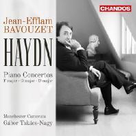 PIANO CONCERTOS/ JEAN-EFFLAM BAVOUZET. GABOR TAKACS-NAGY [하이든: 피아노 협주곡]