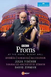 BBC PROMS 2014: AT THE ROYAL ALBERT HALL/ JULIA FISCHER, DAVID ZINMAN [BBC 프롬스: 드보르작, 슈트라우스, 베토벤]
