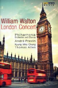 LONDON CONCERT/ KYUNG-WHA CHUNG, ANDRE PREVIN [월튼: 런던 콘서트 - 정경화]