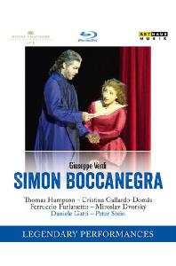 SIMON BOCCANEGRA/ DANIELE GATTI [LEGENDARY PERFORMANCES] [베르디: 시몬 보카네그라]