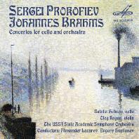 CONCERTOS FOR CELLO AND ORCHESTRA/ NATALIA GUTMAN, OLEG KAGAN, EVGENY SVETLANOV [프로코피에프 & 브람스: 첼로 협주곡]