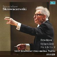 SYMPHONIES NO.4 & 9/ STANISLAW SKROWACZEWSKI [브루크너: 교향곡 4, 9번 - 스크로바체프스키