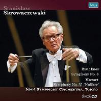SYMPHONY NO.8 & NO.35 'HAFFNER'/ STANISLAW SKROWACZEWSKI [브루크너: 교향곡 8번 & 모차르트: 교향곡 35번 - 스크로바체프스키]