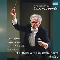 SYMPHONIES NO.3, 4, 7/ STANISLAW SKROWACZEWSKI [베토벤: 교향곡 3, 4, 7번 - 스크로바체프스키]