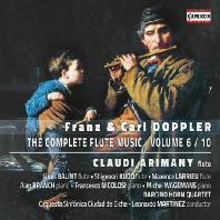 THE COMPLETE FLUTE MUSIC VOL.6 - 10/ CLAUDI ARIMANY [프란츠 & 칼 도플러: 플루트 음악 전곡 6집]