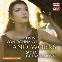PIANO WORKS/ SOFJA GULBADAMOVA [도흐나니: 겨울의 춤, 다섯 개의 유모레스크, 네 개의 광시곡 외 - 소피아 귤바다모바]