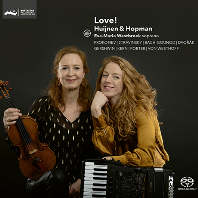 LOVE/ HUIJNEN & HOPMAN [SACD HYBRID] [바이올린과 아코디언으로 듣는 음악 - 하위넌, 호프만]