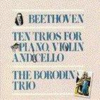 TEN PIANO TRIOS/ THE BORODIN TRIO