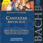 CANTATAS BWV 10,12,13/ HELMUTH RILLING