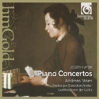 PIANO CONCERTOS/ ANDREAS STAIER, GOTTFRIED VON DER GOLTZ [HM GOLD] [하이든: 피아노 협주곡 4, 6, 11번]
