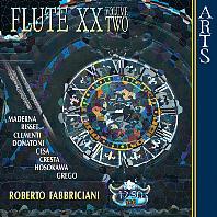 FLUTE XXTH CENTURY VOL.2 [20세기 플루트 음악 모음 2집 - 로베르토 파브리치아니]