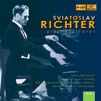 PLAYS BEETHOVEN - PIANO SONATAS/ MSTISLAV ROSTROPOVICH [스비아토슬라브 리히터: 베토벤 소나타, 협주곡 외]