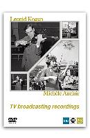 TV BROADCASTING RECORDINGS [DVD+CD] [코간 & 오클레르: 베토벤 바이올린 협주곡 외] [한정판]