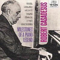 MILESTONES OF A PIANO LEGNED [오리지널 앨범: 모차르트, 라벨, 프랑크 외 - 로베르 카자드쉬]