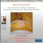 SALZBURGER FESTSPIELE 1981/ MOZARTEUM ORCHESTER SALZBURG/ LEOPOLD HAGER