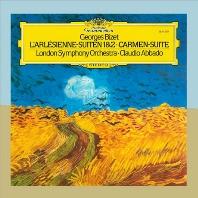L`ARLESIENNE SUITES & CARMEN SUITE/ CLAUDIO ABBADO [GRANDPRIX] [비제: 아를르의 여인, 카르멘 모음곡 - 아바도]