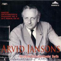 SYMPHONY NO.8/ ARVID JANSONS [쇼스타코비치: 교향곡 8번]