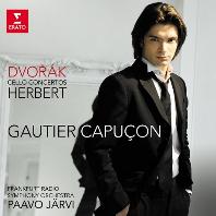 CELLO CONCERTOS/ PAAVO JARVI, GAUTIER CAPUCON [드보르작 & 허버트: 첼로 협주곡 - 카퓌송, 예르비]
