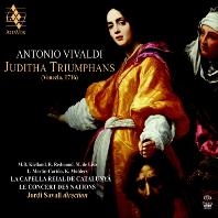 JUDITHA TRIUMPHANS/ JORDI SAVALL [SACD HYBRID] [비발디: 오라토리오 <승리하는 유디타>   조르디 사발]