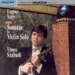 SIX SONATAS FOR VIOLIN SOLO/ VILMOS SZABADI